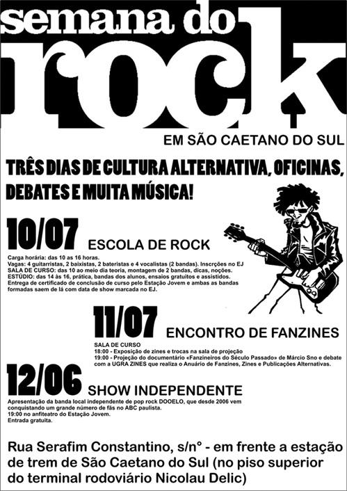 Poster - Semana do Rock