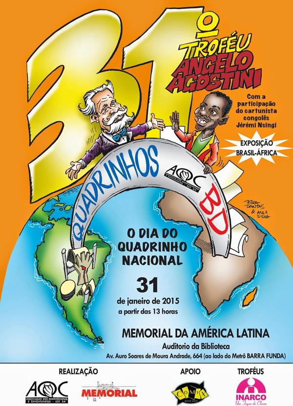 31º Angelo Agostini - Poster